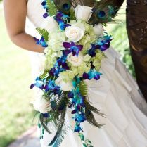 Peacock Flowers For Wedding