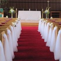 Pews Decorations Wedding