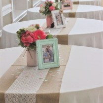 Popular Of Design Ideas Coral Table Runners Wedding Ideas Linens