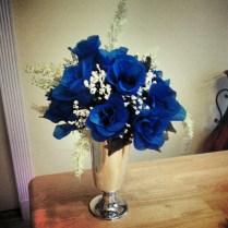 Pretty Ideas Royal Blue Wedding Centerpieces Elegant Vase Filler