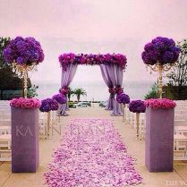 Purple Wedding Decorations Ideas At Best Home Design 2018 Tips