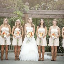 Queen Style Country Wedding Dresses With Boots 19 About Western