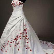 Red And White Wedding Dresses 169 Best Redred White Wedding Dress