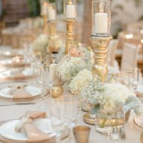 Remarkable Gold And White Wedding Decorations 48 With Additional