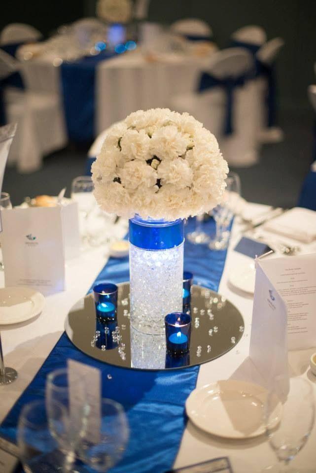 Royal blue wedding decorations royal blue and ivory wedding decorations 8369 junglespirit Choice Image