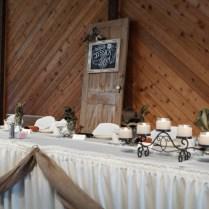Rustic Door For Head Table Backdrop, Wedding
