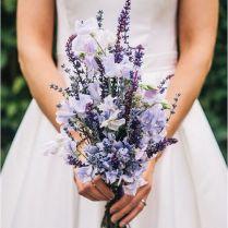 Simple Purple Wedding Bouquets 25 Lavender Wedding Bouquets Favors