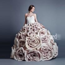 Soayle 2016 Wedding Dress Sweetheart Ball Gown Vestidos Handmade