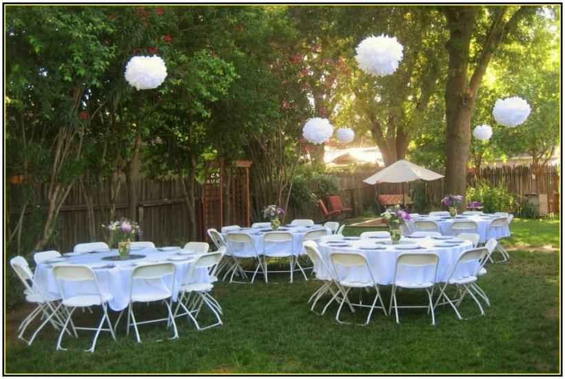 Inexpensive Outdoor Wedding Reception   deweddingjpg.com