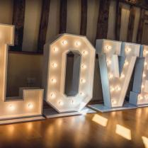 Stunning Love Letters For Weddings, Love Letter Hire