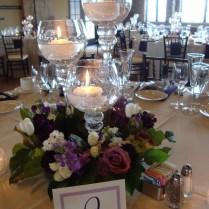Stunning Wine Glass Wedding Centerpieces Photos