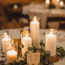 Stylish Candle Wedding Centerpieces 1000 Ideas About Candle