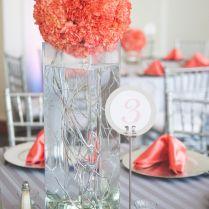 Stylish Coral Wedding Centerpieces Wedding Coral Wedding