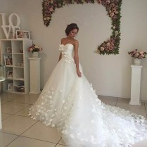 Sweetheart China Country Western Bridal Bride Dresses 2017 Tulle
