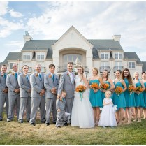 Teal And Gray Wedding Colors