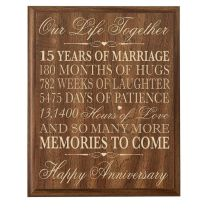 The 25 Best 15th Wedding Anniversary Gift Ideas On Emasscraft Org
