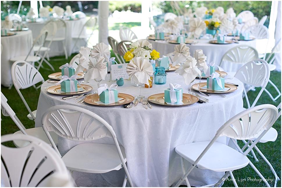 Tiffany Blue Wedding Table