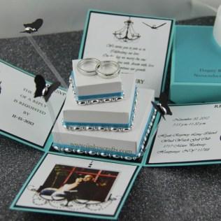 Tiffany Box Wedding Invitations Box Wedding Invitations Plumegiant