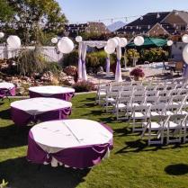 Utah Weddings Decorations Rentals I Do Decor Backyard Wedding