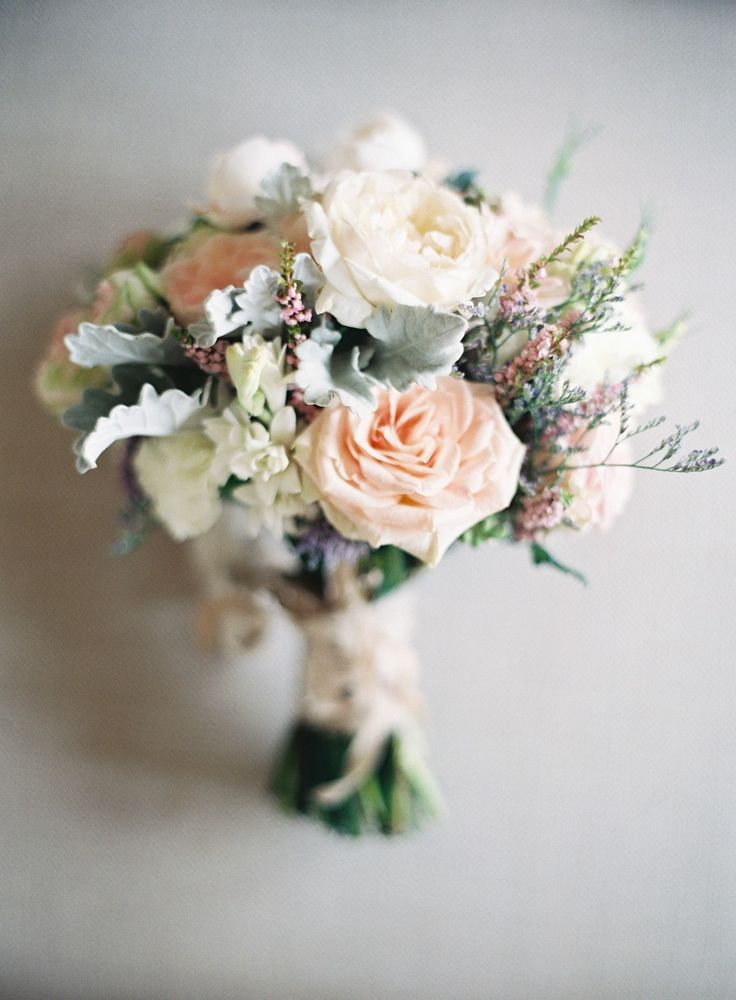 Vintage Flowers Wedding Bouquet