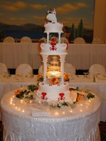 Wedding Cakes With Fountains Best 25 Fountain Wedding Cakes Ideas