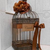 Wedding Card Box Bird Cage Wedding Card Holder Rustic Wedding