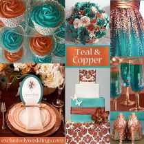 Wedding Color Teal
