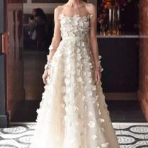 Wedding Dresses With 3d Flower Details