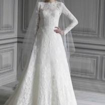 Wedding Dresses With Sleeves 30 Gorgeous Lace Sleeve Wedding