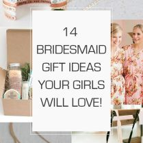 Wedding Gift Ideas For Bride From Bridesmaid Best 25 Bridesmaid