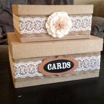 Wedding Money Boxes Ideas Diy Country Wedding Card Box Wedding
