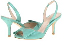 Wedding Shoes For Under 200 Aqua Shimmer With Medium Heel