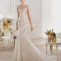 White And Gold Wedding Dress 2014 Naf Dresses