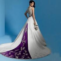 White And Purple Wedding Dress White And Purple Wedding Dress Naf