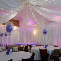 White Wall Drapes Venue Dressing Windsor, Wrasbury, Datchet