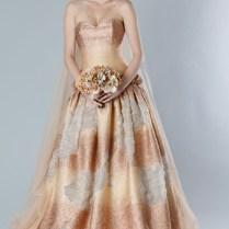 Wonderful Autumn Colored Wedding Dresses