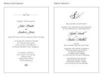 Wording Samples For Wedding Invitations Handsmaden