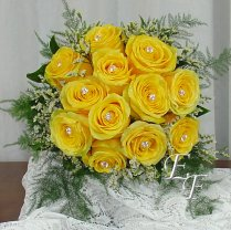 Yellow Rose Bouquets For Wedding Yellow Rose Wedding Bouquet Ef