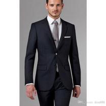 2018 Groom Suits Wedding Mens Black Suit Mens Suits With Pants