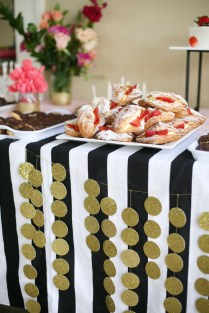 A Kate Spade Themed Bridalshower