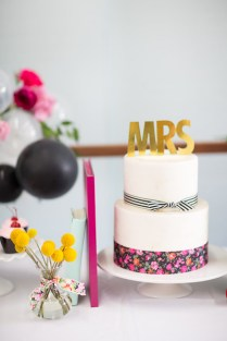 Kara's Party Ideas Kate Spade Inspired Bridal Shower