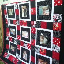 Memory Quilt Block Pattern Baby Memory Quilt Memory Quilt Ideas