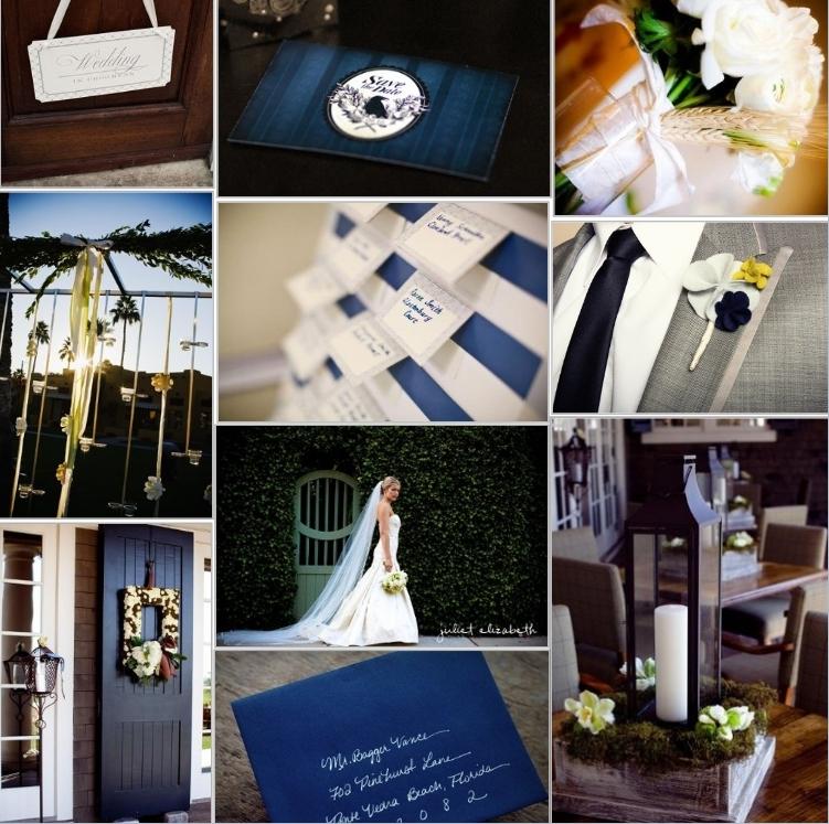 Navy Wedding Theme Ideas