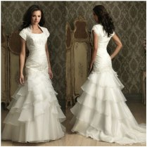 Steampunk Victorian Wedding Dress Gown Gothic Fantasy Fashion Grey