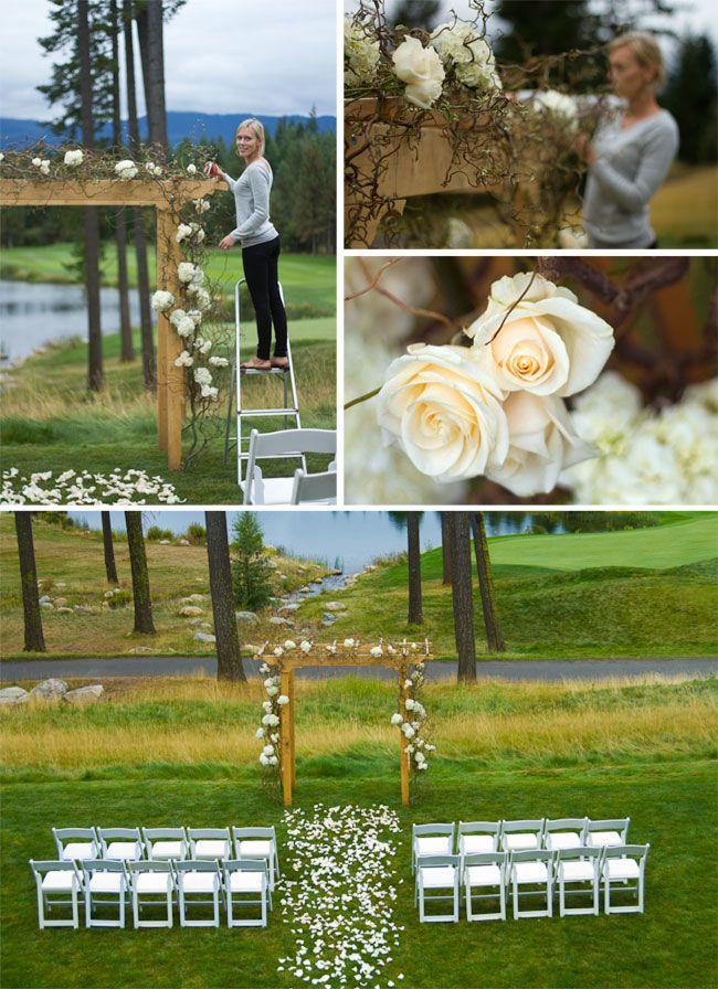 Simple Wedding Ideas.Simple Outside Wedding Ideas