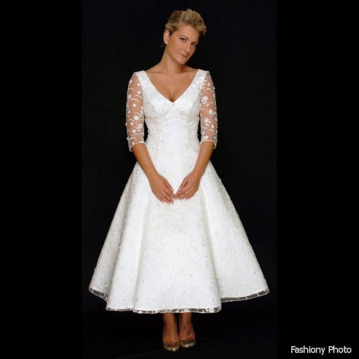 Wedding Dress For Older Women,African Lace Wedding Guest Dresses