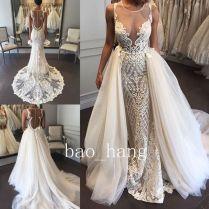 Wedding Dresses With Detachable Skirts – Watchfreak Women Fashions