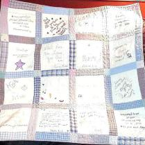 Wedding Memory Quilt Ideas Memory Quilts Ideas Photo Memory Quilts