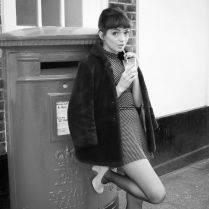 Yours Truly X, 1960s, Fashion, Vintage Style, Photography, Hair