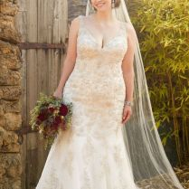 Plus Size Wedding Dress Available At The Bridal Boutique By Maeme